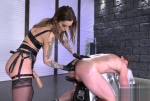 Warm domina buttfuck going knuckle..