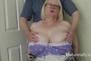 Sally likes having her melons toyed with