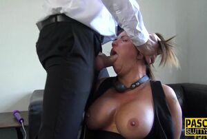 Sucked trussed mischievous honey gets..