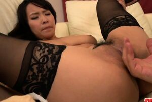 Big-titted Saki Sudou deals the  -..
