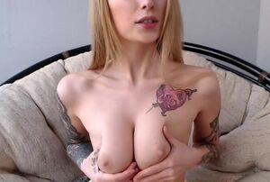 Mind-blowing altbabe frolicking with..