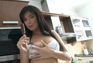 Combat Zone - Huge-titted Young lady..