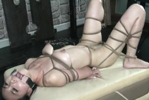 Handsome japanese model Anke Bondage &..
