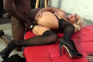 Alexis diamonds big black cock assfuck
