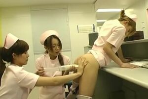 Supah fantastic Asian nurses gargling..