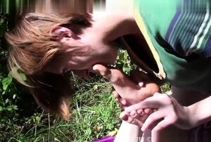 Sole worship orgy flicks from..