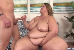 Jeffs Models - SSBBW Erin Green Oral..