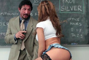 Big-chested Nubile Ravages Lecturer..