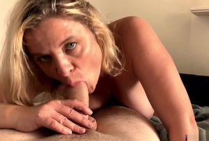 Stepmom helps stepson with his  desire..