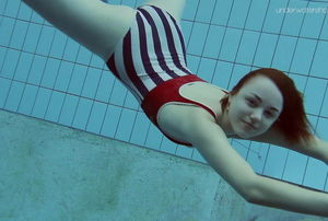 Lada Poleshuk super hot underwater..