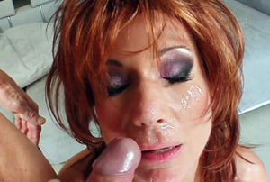 Cougar Thing Ginger-haired cougar gets..
